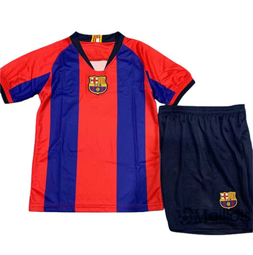 Ensemble Maillot Barcelone Enfant commemorative edition