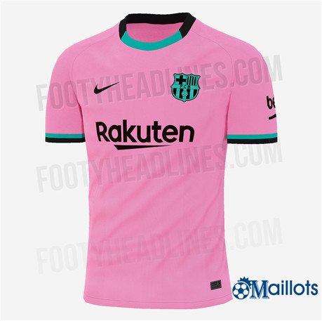 Grossiste Maillot Foot Fc Barcelone Third 2020 2021 Omaillots