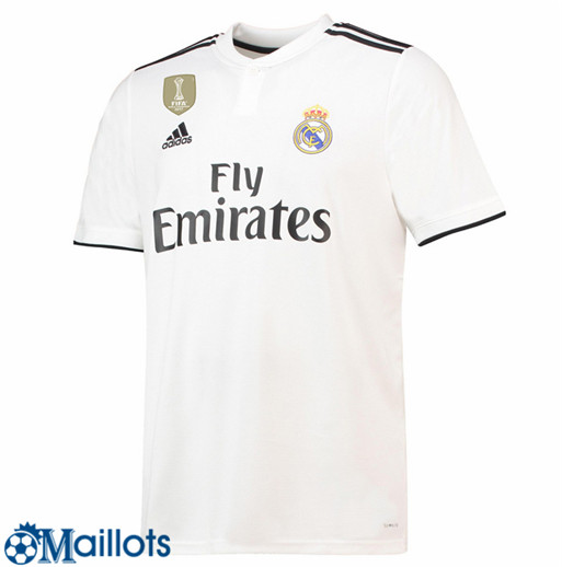 Real Madrid Foot Maillot Domicile 2018 2019