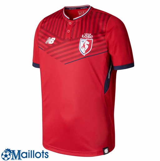 Lille Foot Maillot Domicile 2017 2018