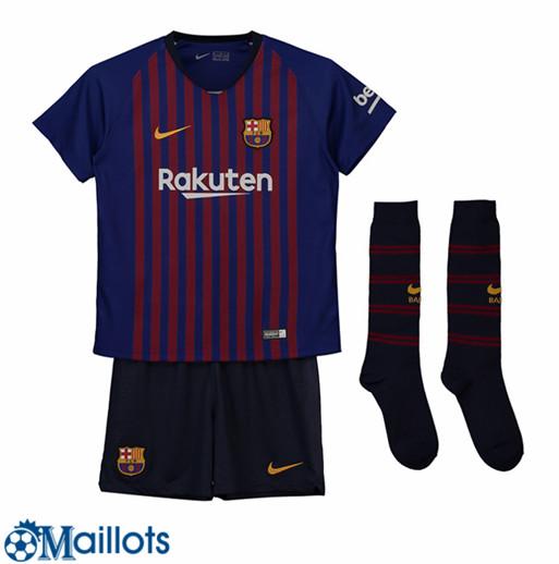 ensemble de foot FC Barcelona Enfant