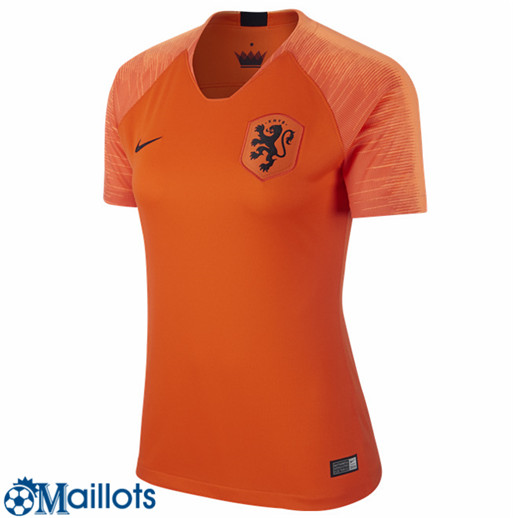 Pays-bas Foot Maillot Femme Domicile 2018 2019