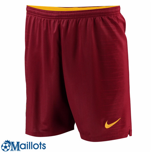 Maillot Short AS Roma Domicile 2018 2019
