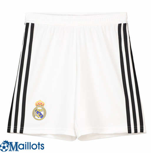 Maillot Short Real Madrid Enfant Domicile 2018 2019