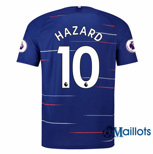 Maillot de Football Chelsea 10 Hazard Domicile 2018 2019