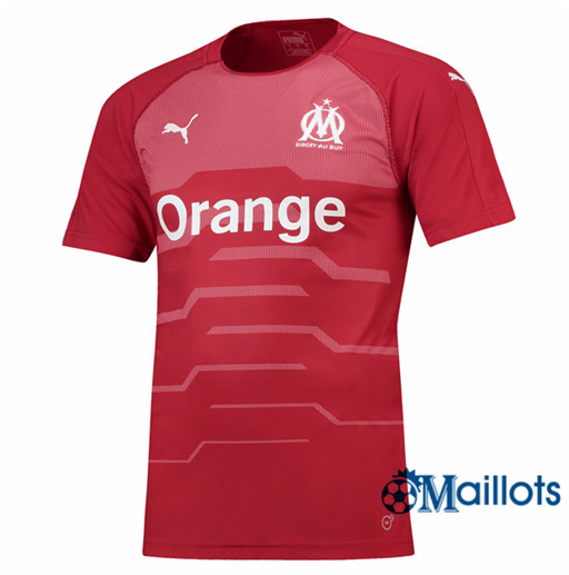 Maillot de Football Marseille Domicile Goalkeeper 2018 2019