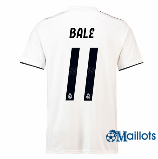 Maillot de Football Real Madrid 11 Bale Domicile 2018 2019