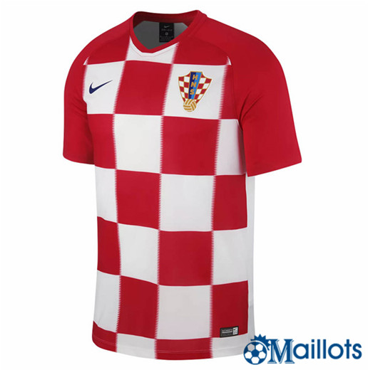 Maillot de Football Croatie Domicile 2018 2019
